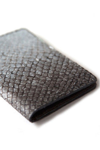Grey Salmon Card Holder