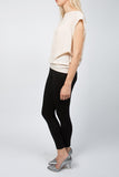 TARLEE Lily & Carter black fitted stretch trousers