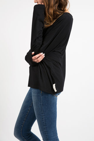 Slouch Top Black