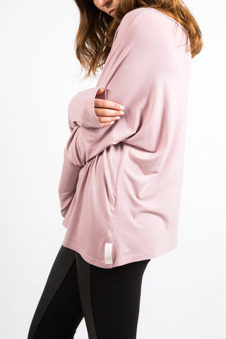 Slouch Top Pink