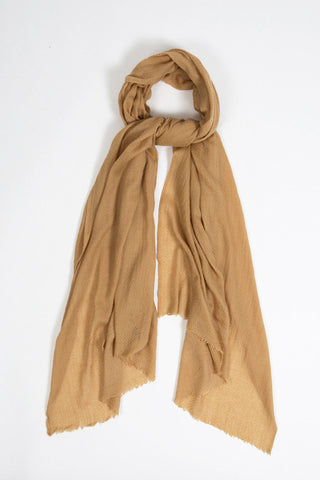 Fair trade Caramel Scarf