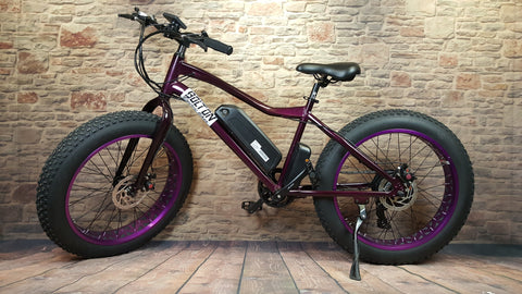 Bolton electric bike with battery