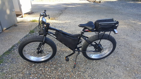"Sierra Ebike 24"" Small Electric Fat Bike"
