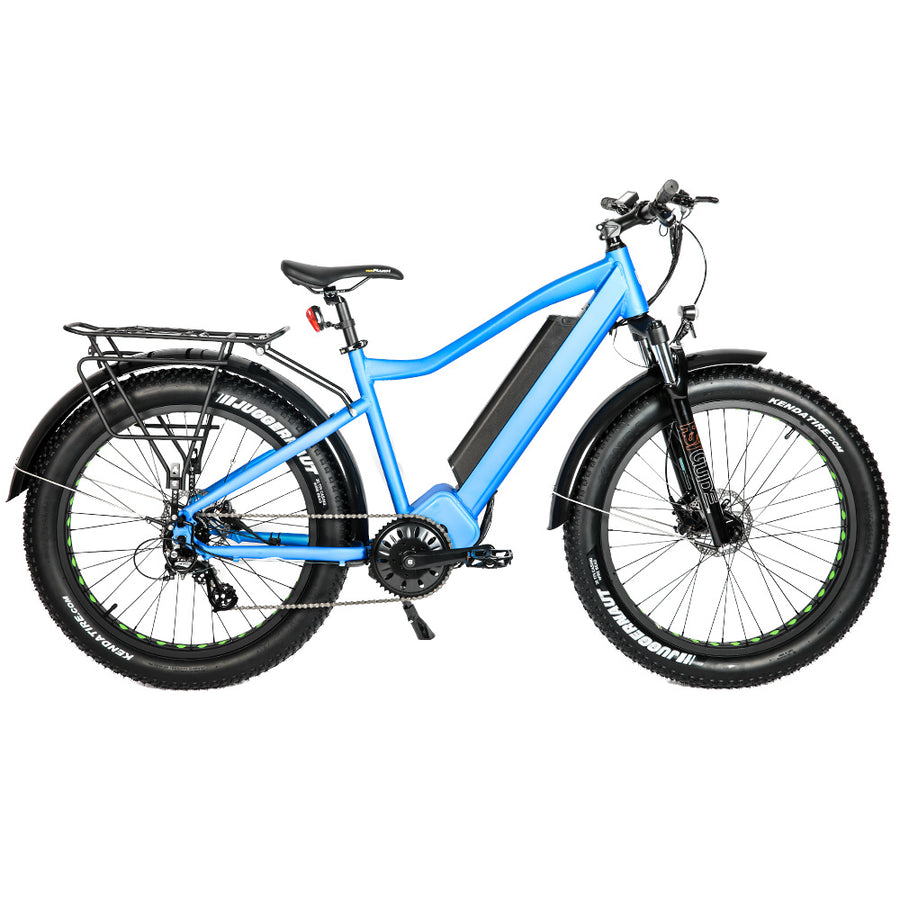 Right Profile Bolton Ebikes 1000W Blue