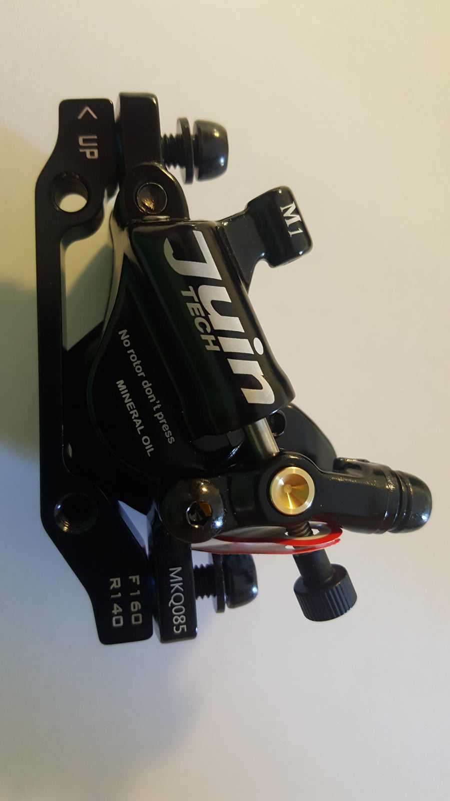 Juintech M1 hydraulic calipers! Front and Rear