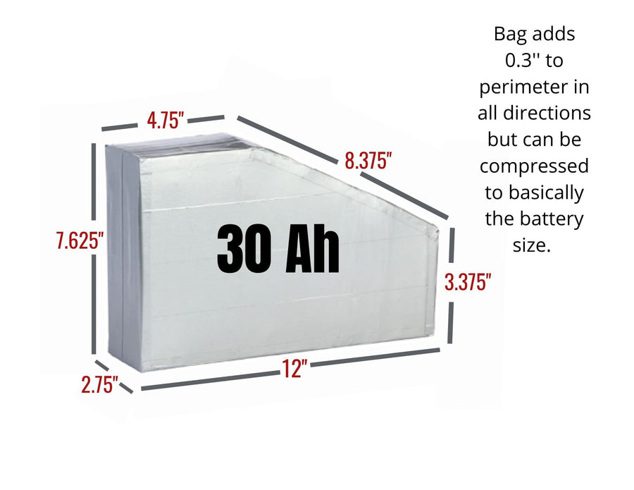 30aH Triangle Battery
