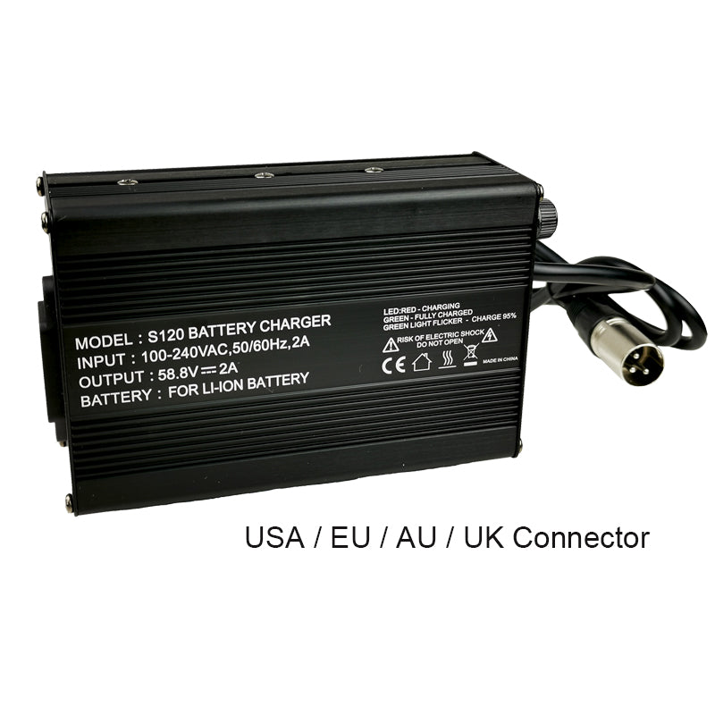 48v or 52v 12.8ah Battery - FREE US shipping