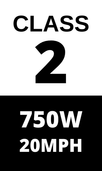 Class 2 750 Watt - Pack of 2