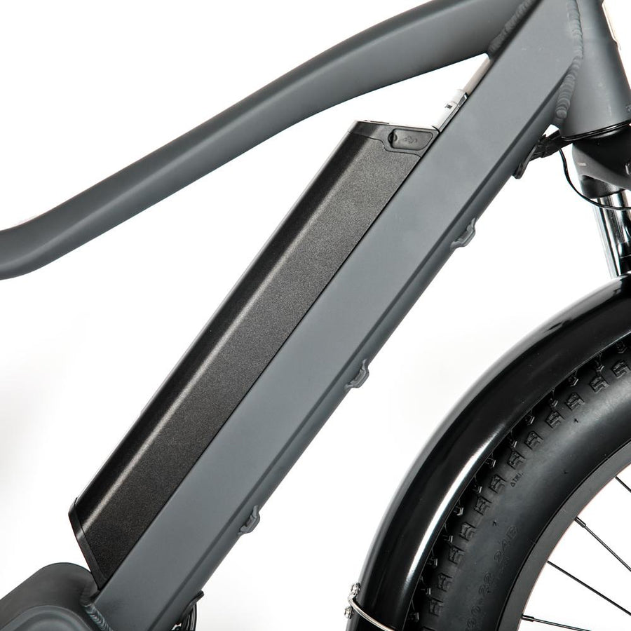 Slim Battery 1000W Mid Drive Grey Bolton Ebikes
