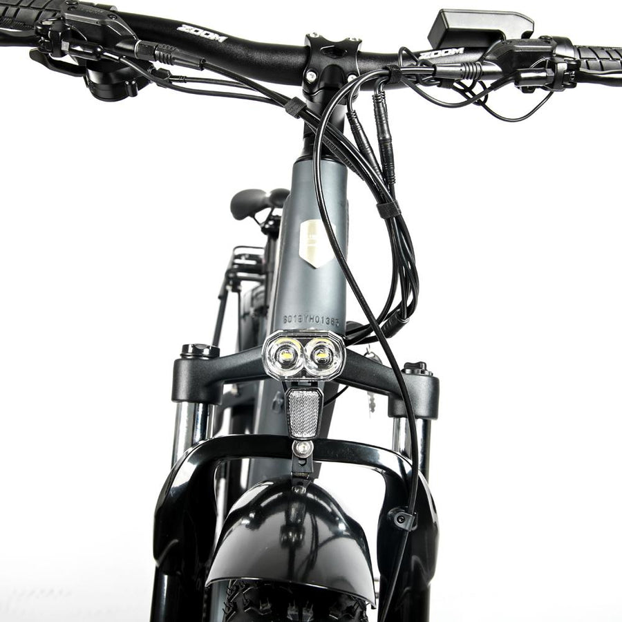 Front Suspension 1000W Mid Drive Grey Bolton Ebikes