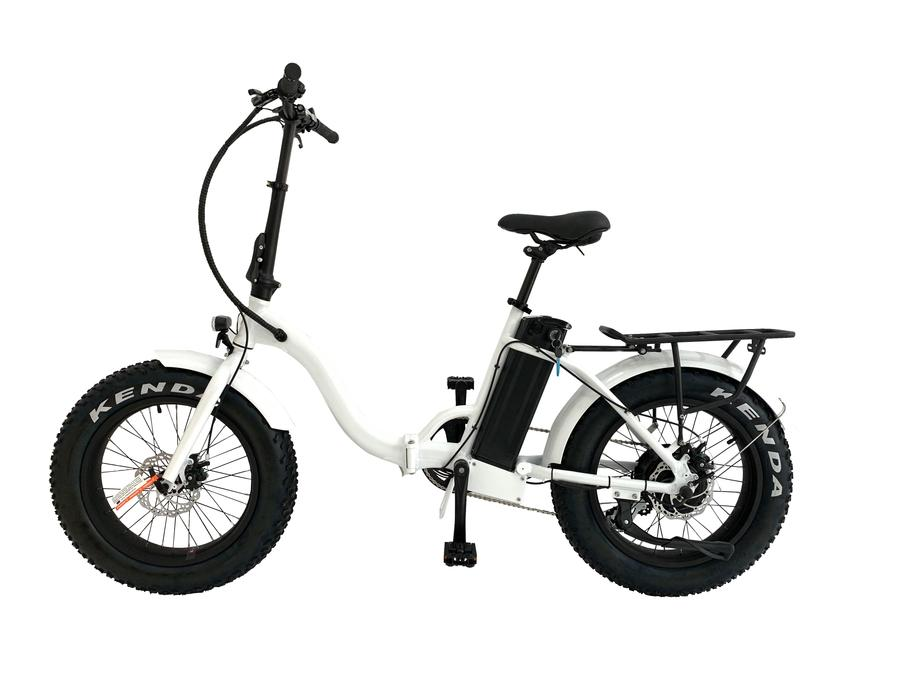 2021 Crusader - Fat Step Through Folding Bike - March Shipping