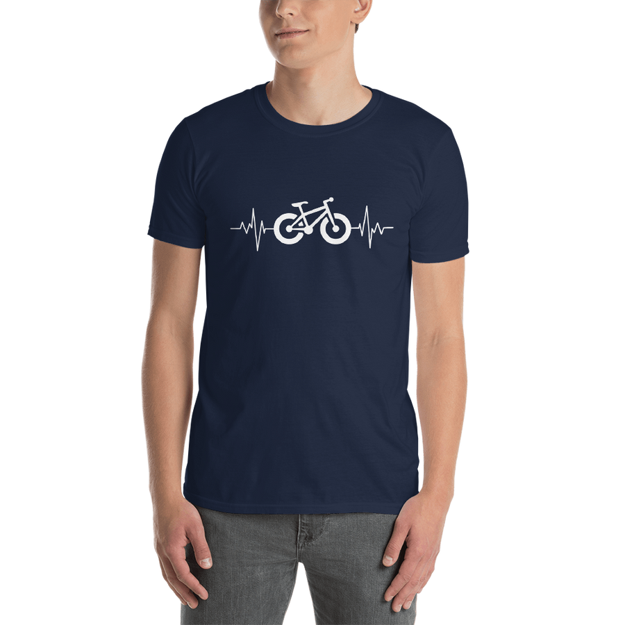 Electric Bike Heartbeat Tee Shirt