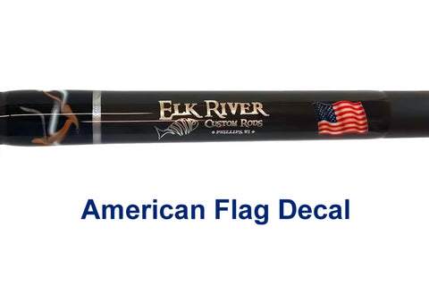 Custom Fish/Flag Decal Inlay