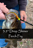 Jig-Shots 3.5'' Drop Shiner - 12pk