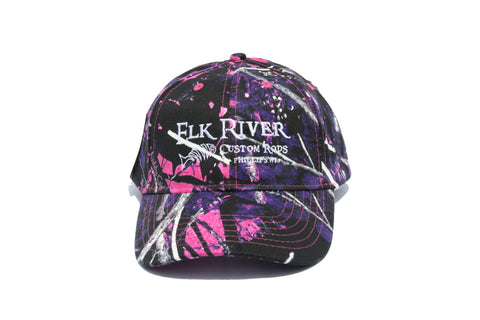 Elk River Custom Rods Muddy Girl Camo Hat