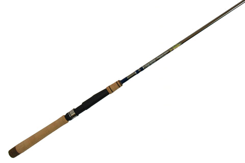 6'8'' Med-Lite Walleye Platinum Spinning - Full Grip Handle