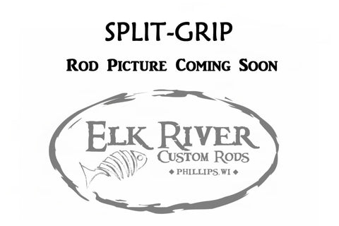 6'6'' Medium Walleye Silver XP Spinning - Split-Grip Handle
