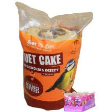 Suet To Go Cake & Hang Insect Wild Bird Treat,Wild Bird Treats,Suet to Go,Animal World UK - Animal World UK