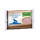 Natures Menu Frozen Mince Chicken & Rabbit Raw Food Block