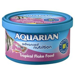 Aquarian Tropical Flake Fish Food,Fish Food,Pedigree wholesale,Animal World UK - Animal World UK