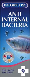 Interpet Anti Internal Bacteria No9 Aquarium Treatment,Aquarium Treatments,Interpet,Animal World UK - Animal World UK