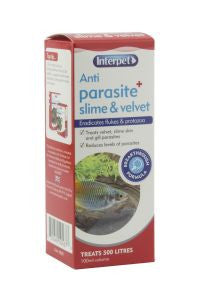 Interpet Parasite Anti Slime & Velvet Aquarium Treatment