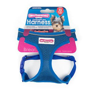 Ancol Simply Comfortable Comfort Mesh Blue Dog Harness,Dog Harnesses,Ancol,Animal World UK - Animal World UK