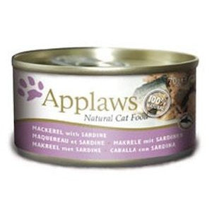 Applaws Mackerel with Sardine Wet Cat Food,Wet Cat Food,Applaws,Animal World UK - Animal World UK