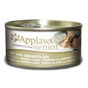 Applaws Senior Tuna with Sardine Wet Cat Food,Wet Cat Food,Applaws,Animal World UK - Animal World UK