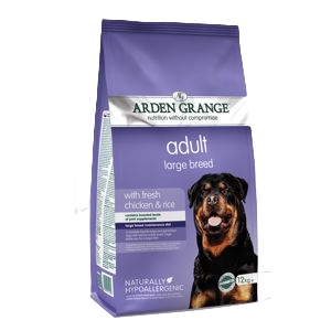 Arden Grange Adult Large Breed Chicken & Rice Dry Dog Food