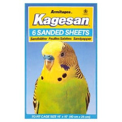 Armitage Kagesan (Blue) Bird Cage Sanded Sheets 40x25cm,Bird Hygiene,Armitage,Animal World UK - Animal World UK