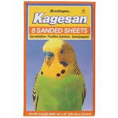 Armitage Kagesan (Orange) Bird Cage Sanded Sheets 35x21cm,Bird Hygiene,Armitage,Animal World UK - Animal World UK
