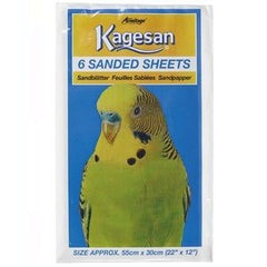 Armitage Kagesan (White) Bird Cage Sanded Sheets 55x30cm,Bird Hygiene,Armitage,Animal World UK - Animal World UK