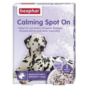 Beaphar Calming Spot On for Dogs,Dog Healthcare,Beaphar,Animal World UK - Animal World UK