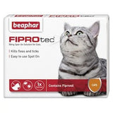 Beaphar FIPROtec Spot On Solution for Cats,Cat Healthcare,Beaphar,Animal World UK - Animal World UK