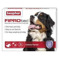 Beaphar FIPROtec Spot on Solution for Extra Large Dogs,Dog Healthcare,Beaphar,Animal World UK - Animal World UK