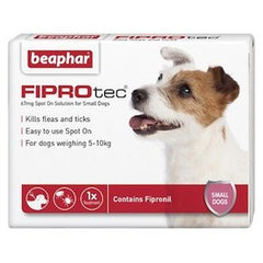 Beaphar FIPROtec Spot on Solution for Small Dogs,Dog Healthcare,Beaphar,Animal World UK - Animal World UK
