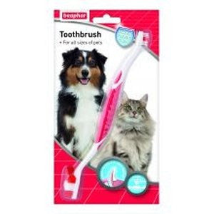 Beaphar Toothbrush,Dog Healthcare,Beaphar,Animal World UK - Animal World UK