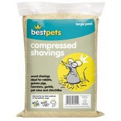 Bestpets Compressed Shavings,Small Animal Bedding,Bestpets,Animal World UK - Animal World UK