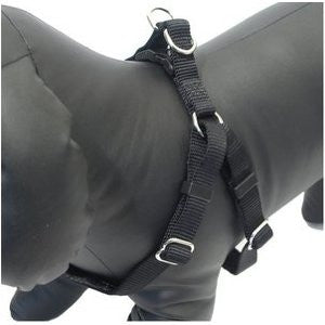 Black Soft Protection Dog Harness