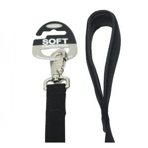 Black Soft Protection Dog Lead
