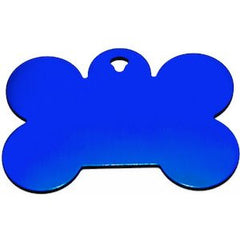 Blue Bone Dog Tag,Dog Tags,VIP Engravers,Animal World UK - Animal World UK