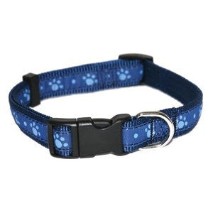 Blue Paw Dog Collar