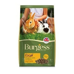 Burgess Excel Adult Nuggets with Oregano Rabbit Food,Rabbit Food,Burgess,Animal World UK - Animal World UK