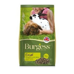 Burgess Excel Adult Rabbit Food,Rabbit Food,Burgess,Animal World UK - Animal World UK