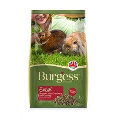 Burgess Excel Nuggets Cranberry & Ginseng Mature Rabbit Food,Rabbit Food,Burgess,Animal World UK - Animal World UK