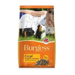 Burgess Excel Nuggets Guinea Pig Food,Guinea Pig Food,Burgess,Animal World UK - Animal World UK
