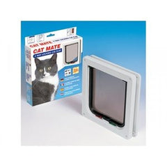 Cat Mate 4 Way Locking Cat Flap,Cat Flaps,Rosewood,Animal World UK - Animal World UK