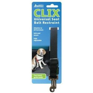 Clix Universal Dog Seat Belt Restraint,Dog Travel,Company Of Animals,Animal World UK - Animal World UK