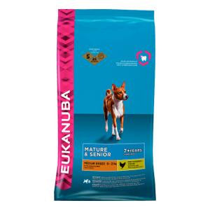 Eukanuba Mature & Senior Medium Breed Chicken Dry Dog Food,Dry Dog Food,Eukanuba,Animal World UK - Animal World UK